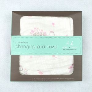 Aden Anais For the Birds Owls Changing Pad Cover